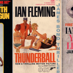 13 JAMES BOND COVERS: A Birthday Salute to IAN FLEMING