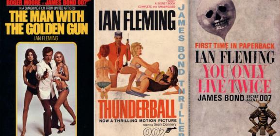 13 JAMES BOND COVERS: A Birthday Salute to IAN FLEMING