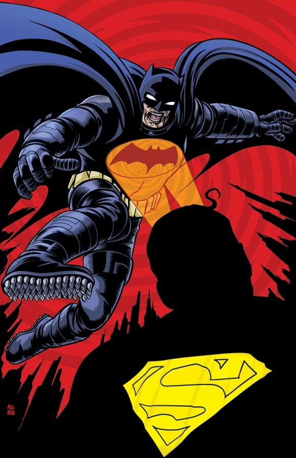 Allred's Dark Knight III #1 cover