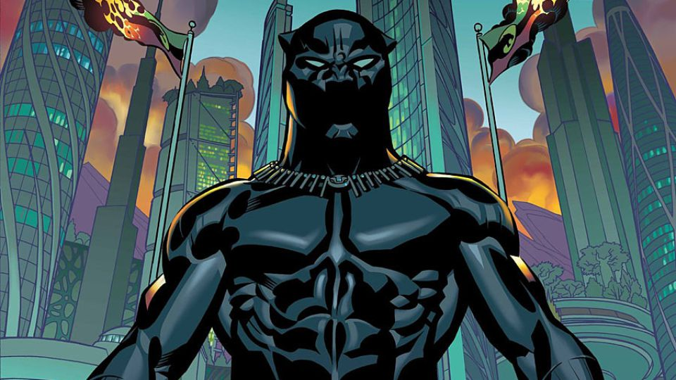Black Panther art by Brian Stelfreeze
