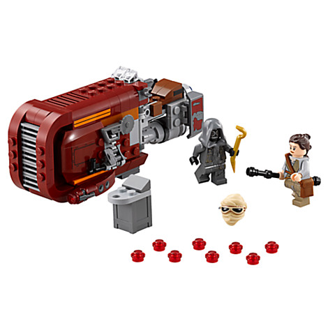 Lego Rey and her speeder