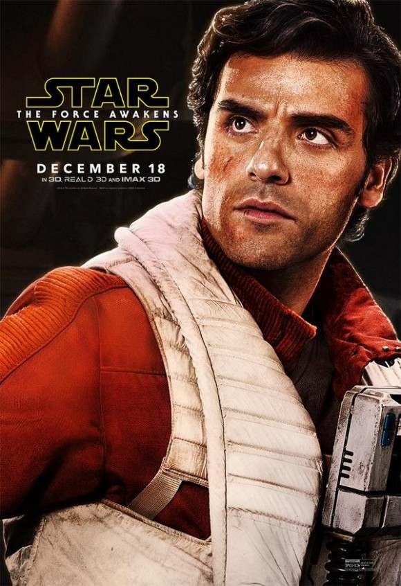 Poe-Dameron-Character-Poster-Star-Wars-The-Force-Awakens