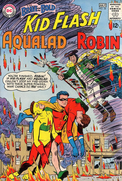 Bruno Premiani. I still can't believe Robin didn't get top billing.