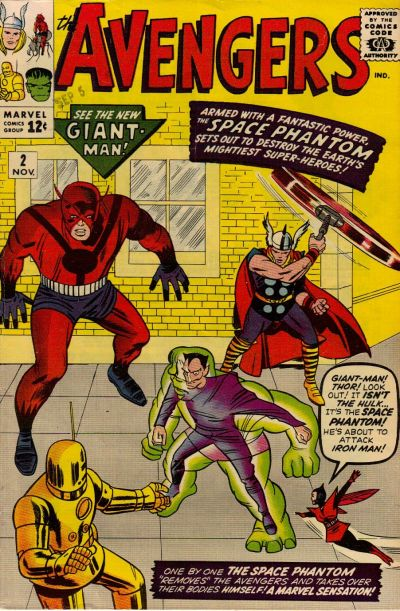 Jack Kirby art, with either Sol Brodsky or Frank Giacoia
