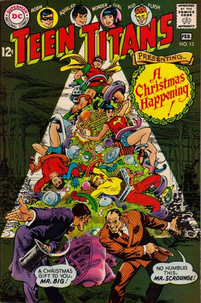 Nick Cardy. Best Christmas cover ever?