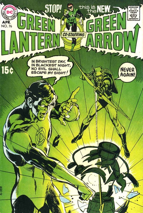 GREEN LANTERN GREEN ARROW 76