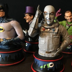 BUILDING BATMAN '66: Diamond's WILD Mr. Freeze Bust