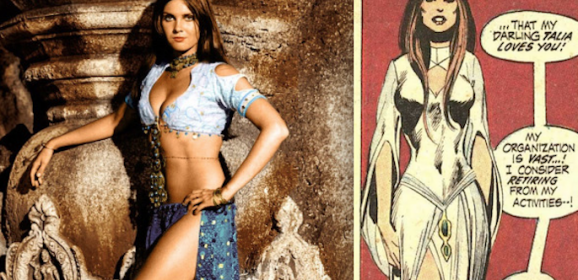 CAROLINE MUNRO — The Greatest TALIA That Never Was
