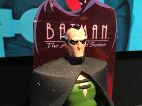 It's so hard to get Ra's al Ghul's face right because of the eyebrows. They came pretty close in the Animated Series line ...