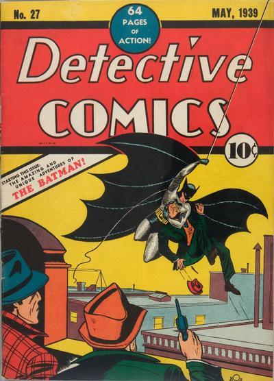 Bob Kane cover art