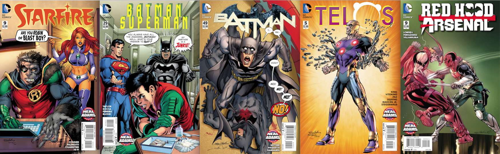 The Week 2 covers, out 2/10.