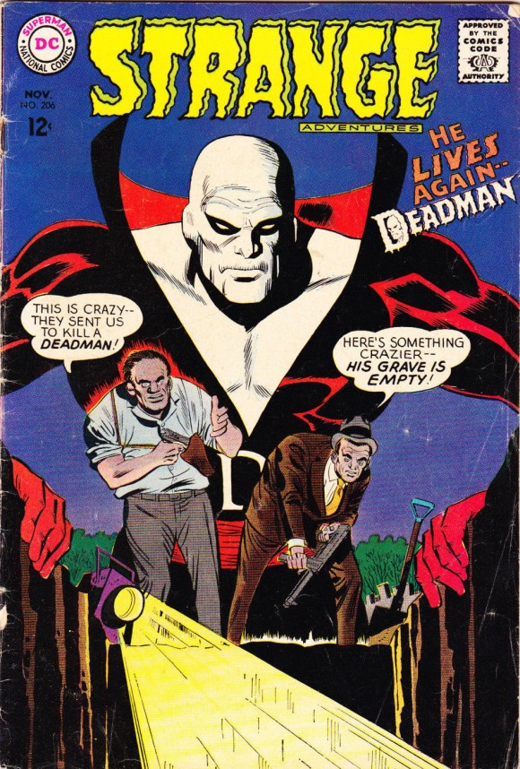Cover by Mike Sekowsky and George Roussos