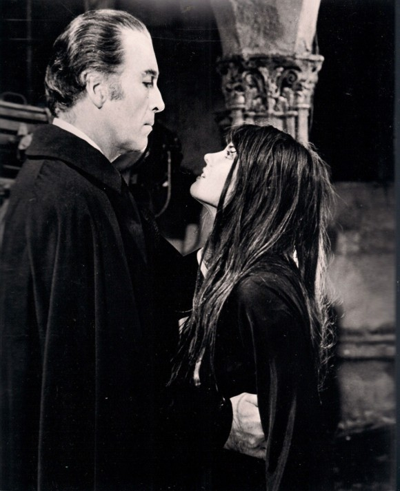 "Lee and Munro in ""Dracula A.D. 1972"""