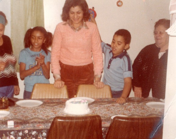 George and his Mego Superman crash his aunt's birthday party in 1981.
