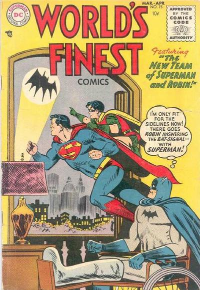 Curt Swan and Stan Kaye. Ah, the seething resentment begins ...