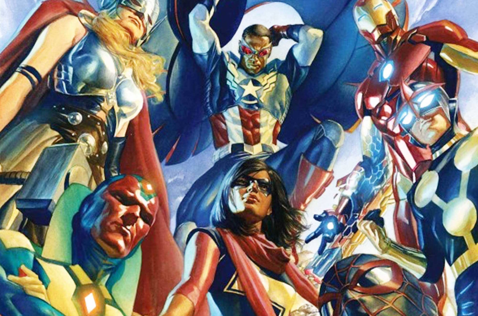 All-New All-Different Avengers. (Art by Alex Ross, who will not be there.)