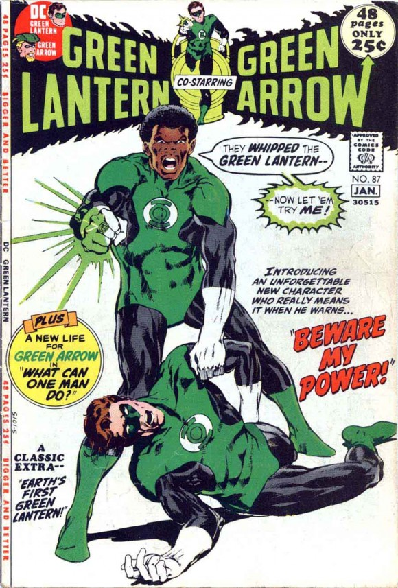 GREEN LANTERN GREEN ARROW 87