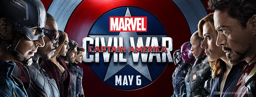 Captain America banner Cap