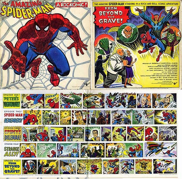 spidermanrockomic