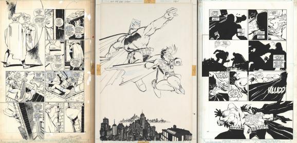 THE DARK KNIGHT RETURNS Gallery Edition Index