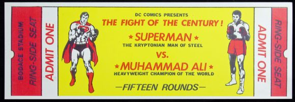 1978-promotional-ticket-Ali-vs-Superman