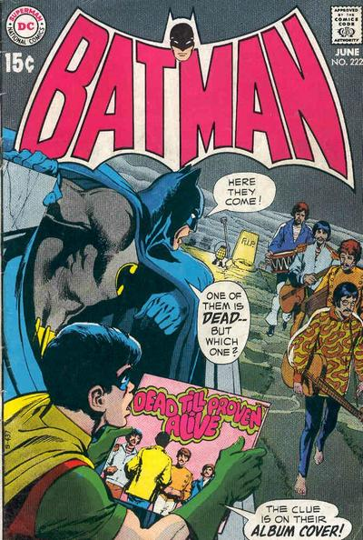 Neal Adams. Sam and I share an abiding love of the Beatles.