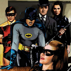 The Pop Art Stylings of BATMAN '66 MEETS STEED and MRS. PEEL