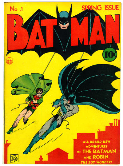 Bob Kane and Jerry Robinson. You have to include this, right?