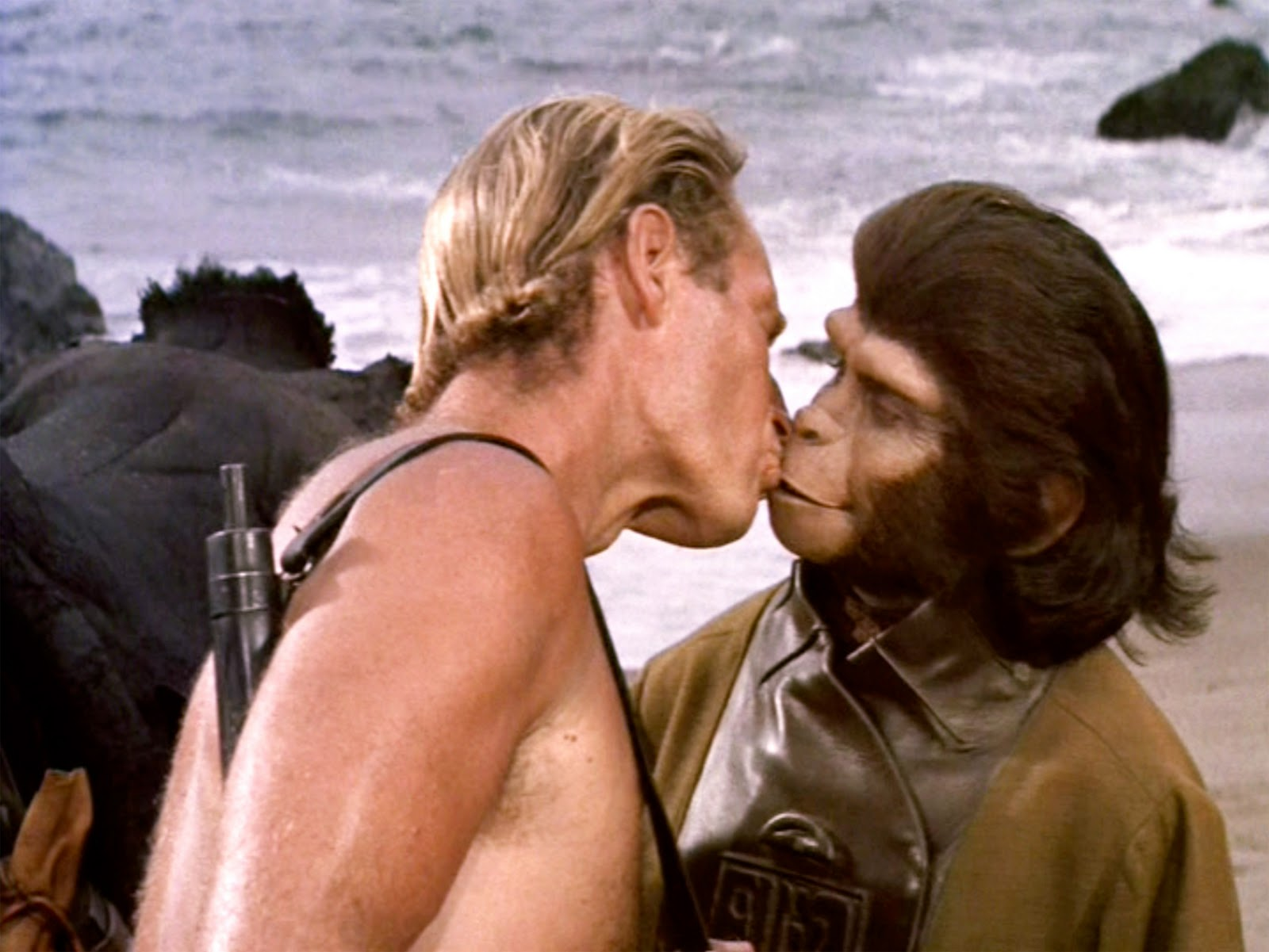 That's some hot monkey lovin' right there.