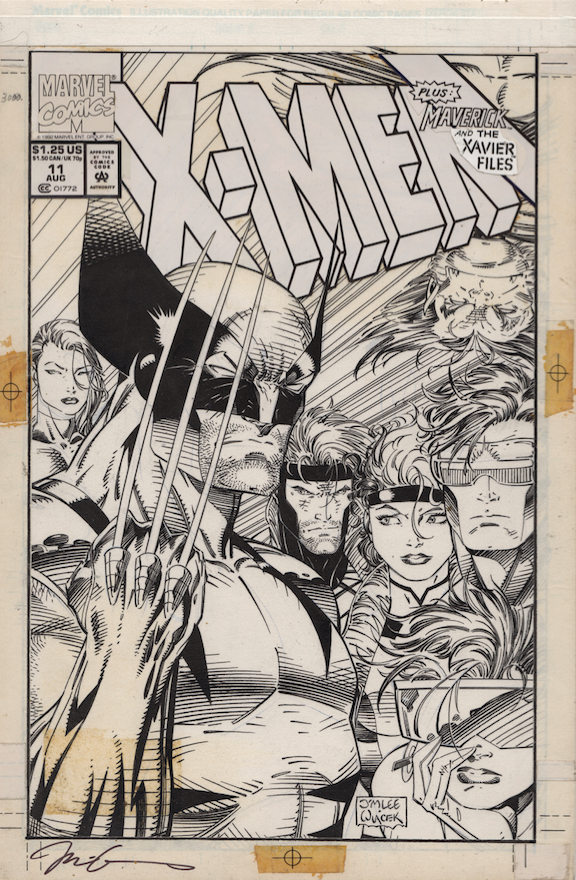 Jim Lee, X-Men #11