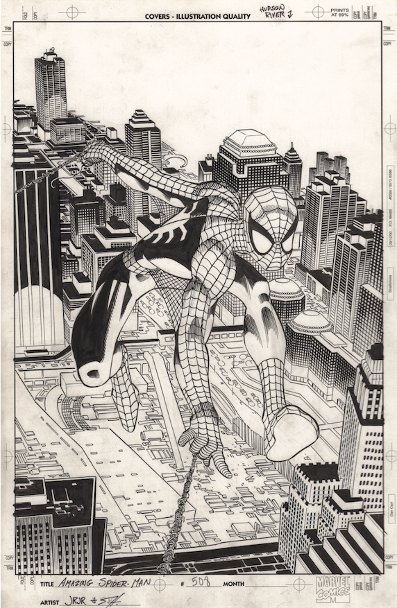 John Romita Jr., Amazing Spider-Man #508. Scott Hanna inks.