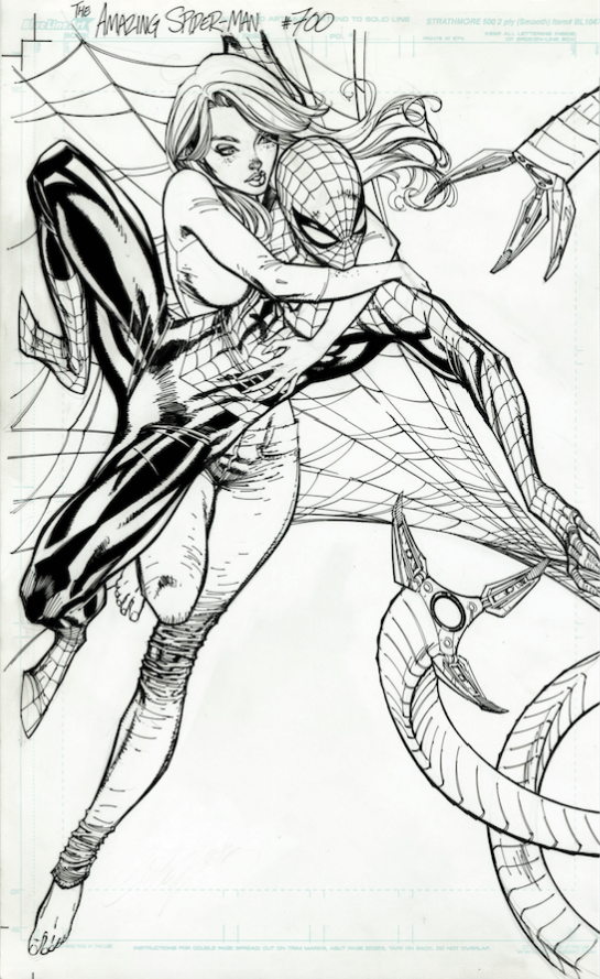 J. Scott Campbell, Amazing Spider-Man #700 variant
