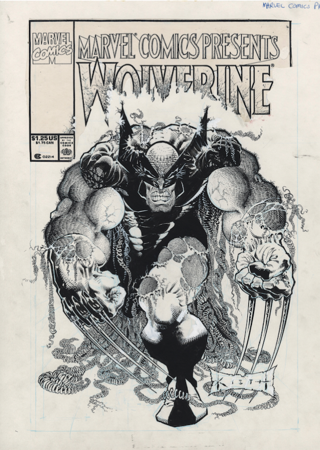 Sam Kieth, Marvel Comics Presents #92