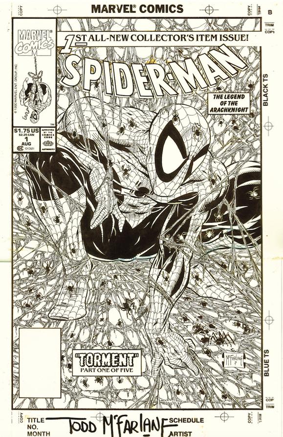 Todd McFarlane, Spider-Man #1