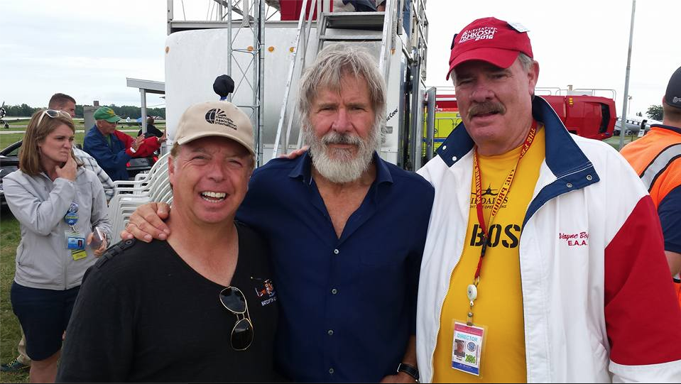 Nock, some bearded guy, Wayne Boggs. Via Nock's Facebook page.