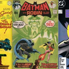 My 13 Favorite BATMAN Stories, by ALAN BRENNERT
