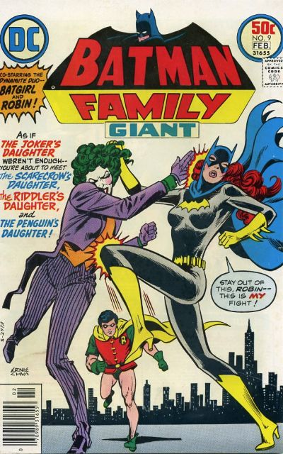 Vince Colletta inks. One of my favorite -- if not my favorite -- Batman Family covers.