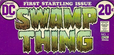"""The Swamp Thing logo, of course—his GREATEST logo!"" -- Arlen Schumer . (Also suggested by Paul Levitz)"