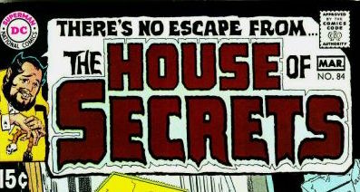 """""""All those DC mystery titles were perfect for Saladino's 'scary' lettering style!"""" -- Arlen Schumer"""
