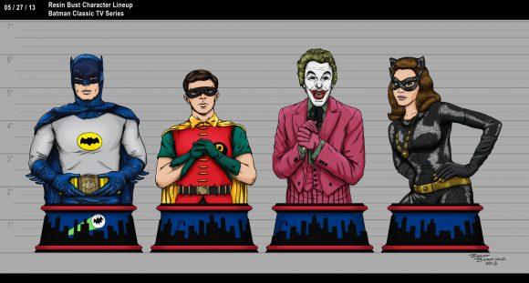 Batman-Classic-TV-Series-Batman-Resin-Bust-Character-Lineup
