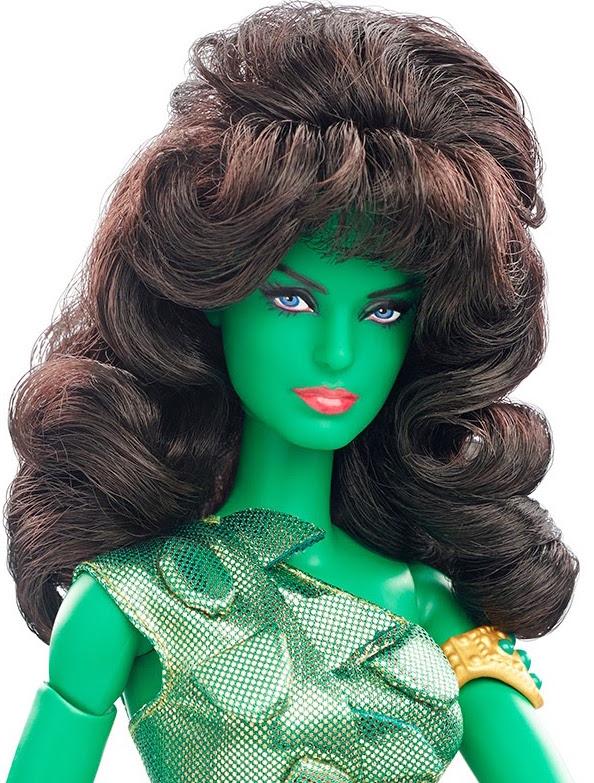 Mattel Barbie Star Trek The Original Series The Cage Vina Orion Slave Girl 2016 San Diego Comic Con exclusive detail