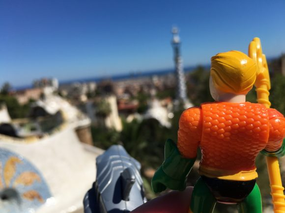 What a great view from Park Guell