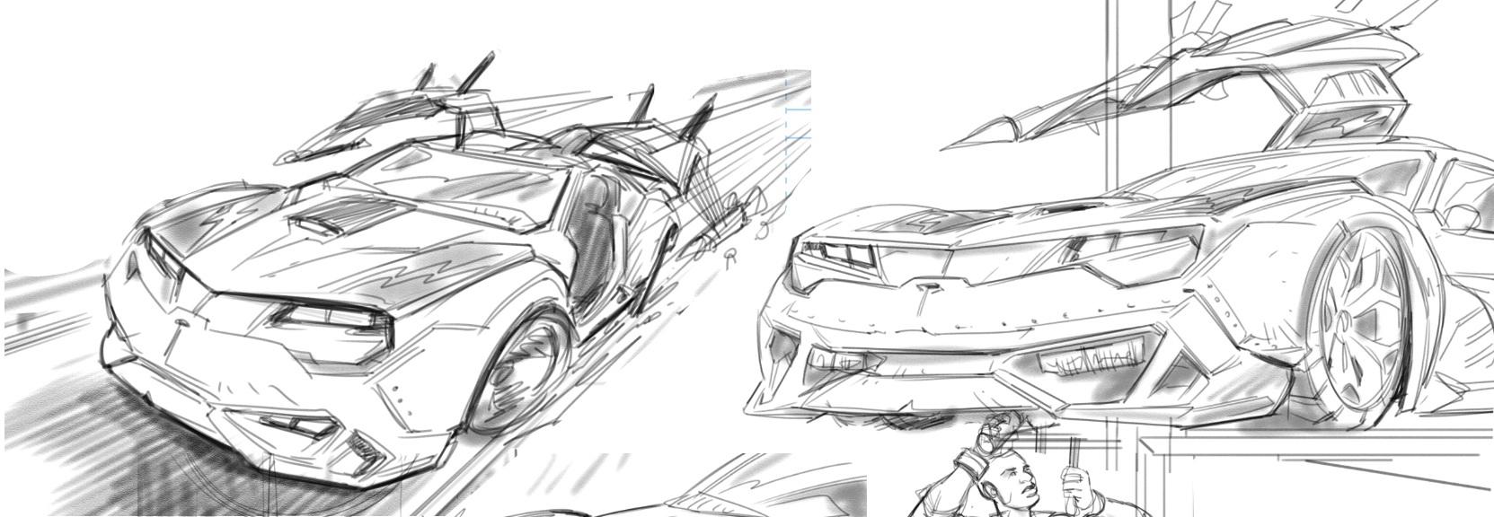 MASK cars