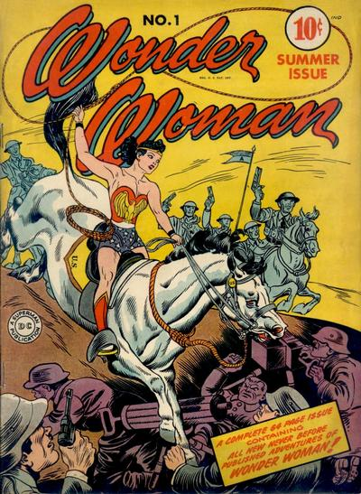 Wonder Woman First Comic