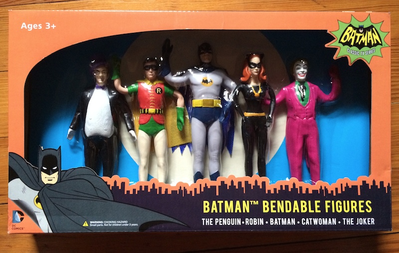 The first NJ Croce Batman '66 boxed set.