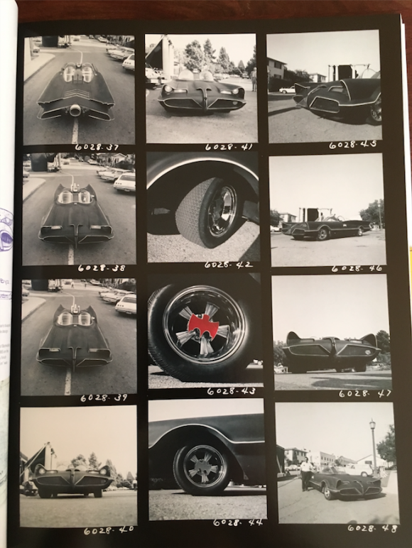 Some breakdowns of the Barris Batmobile.