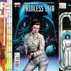 13 COVERS: A CARRIE FISHER Princess Leia Celebration