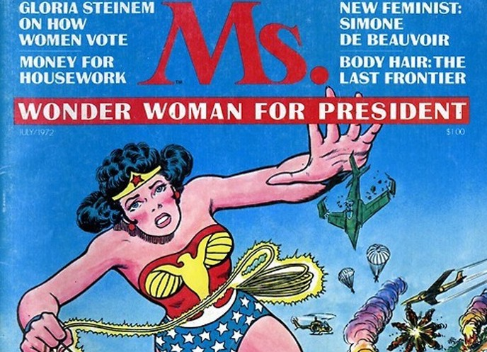 """wonder woman by gloria steinem summary Gloria steinem, """"living the revolution"""" (31 may 1970) [1] president simpson, members of the faculty, families and friends, first brave and courageous male."""