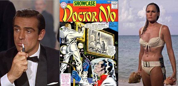 DOCTOR NO: That Suave Time JAMES BOND Joined DC Comics