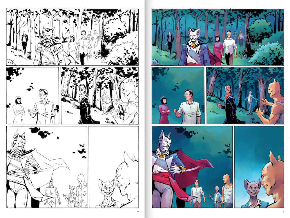 5 colorists today work almost exclusively digitally color used to be done by hand and could be complicated and time consuming because of this color was - Comic Book Coloring